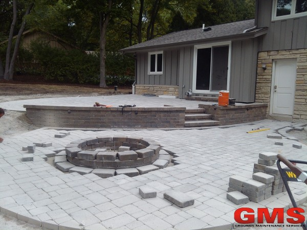Landscape installation and Renovation before